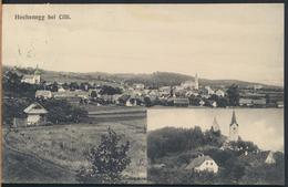 °°° 2064 - SLOVENIA - HOCHENEGG BEI CILLI - 1916 With Stamps °°° - Slovénie