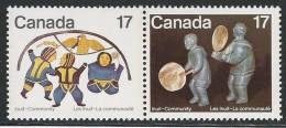 CANADA 1979 SCOTT 837-838** SE-TENANT PAIR CAT VALUE US $0.60 - Ongebruikt