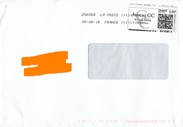 Montimbrenligne QR Code 0.95€ Avocat Paris Toshiba 25635A + Signes <><><> - France