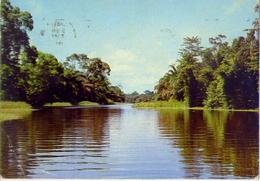 Lagos Stater - Itoikln River - Nigeria - Formato Grande Viaggiata – E1 - Nigeria
