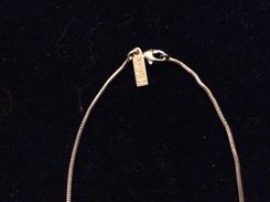 Chaîne Argent Yves Saint Laurent - Necklaces/Chains