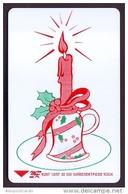 UKRAINE 1997. KIEV. MERRY CHRISTMAS! CANDLE. Cat.- Nr. K121. 840 Units. Chip Thomson - Oekraïne