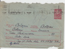 Romania - Botosani - 1956 - Cover Used - 1948-.... Republiken