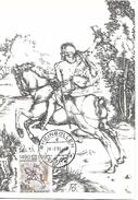 """DEUTSCHLAND  RHEINBOLLEN  Albrecht Dürer 1471/1528 """"il Piccolo Corriere""""  28/02/90 - Engravings"""