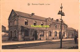 CPA BASCOUP CHAPELLE LA GARE - Chapelle-lez-Herlaimont