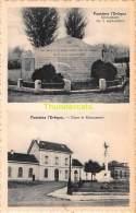 CPA  FONTAINE L'EVEQUE GARE MONUMENT - Fontaine-l'Evêque