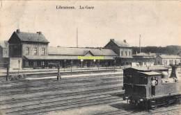 CPA  LIBRAMONT LA GARE TRAIN - Libramont-Chevigny