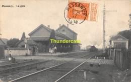 CPA MESSANCY LA GARE TRAIN - Messancy
