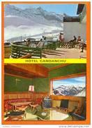 1960 YEARS SPAIN ESPAÑA ESPANA ESPAGNE PIRINEO ARAGONES CANFRANC CANDANCHU HOTEL HOTELS VIEWS POSTCARD - Huesca