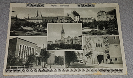 SUBOTICA, SZABADKA, SERBIA 1949.- COLLAGE OLD POSTCARD TRAVELLED TO VINKOVCI WITH PORTO STAMP - Serbia