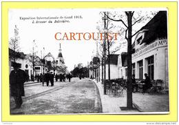 CPA Exposition Universelle De Gand ( Belgique ) - 1913 - L´Avenue Du Belvédère - Gent