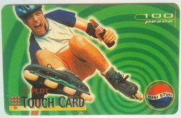 Philippines Phonecard PLDT Touch Card 100 Pesos PEPSI Mint