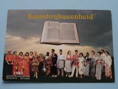 KONINKRIJKSEENHEID Districtscongres Van JEHOVA'S GETUIGEN () Anno 1983 ( Zie Foto Voor Details ) !! - Autres