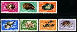 RA0709 Romania 1966 Crab 7v MNH - 1948-.... Republics