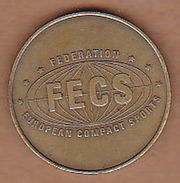 AC -  FECS FEDERATION EUROPEAN COMPACT SPORTS LÖWEN SPORT TOKEN JETON - Monedas/ De Necesidad