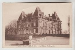CPSM DRAVEIL (Essonne) - MAINVILLE : Le Château Des Bergeries - Draveil