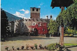 VALLE D'AOSTA - CASTELLO  D'INTROD - EDIZ. CAPURSO - VIAGGIATA 1989 - Non Classés