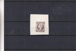 Belgique - Essai De Couleur De A. Finch - Réimpression Privée - Proofs & Reprints