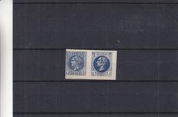 Belgique - Essai De Couleur De A. Finch * - Papier Gommé -  - Réimpression Privée - Proofs & Reprints