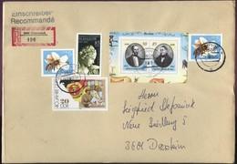 DDR  R-Brief 3606 Osterwieck Nach 3601 Deersheim SoSt 29.9.1990 A. Portogerechte MiF #1 - Covers
