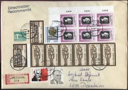 DDR  R-Brief 3606 Osterwieck Nach 3601 Deersheim SoSt 29.9.1990 A. MiF #3 - Covers