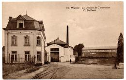 WAVRE Ateliers De Construction C. DE RAEDT Pompes Et Ventilateurs Usine - Edition Belge