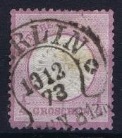 Deutsches Reich: Mi Nr 8 Gestempelt/used/obl. Kleiner Brustschild Hufeisenstempel Berlin - Deutschland