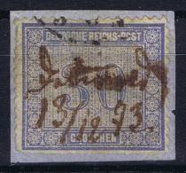 Deutsches Reich: Mi.nr. 13 Used On Fragment - Deutschland