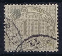 Deutsches Reich: Mi.nr. 12  Yv 26 Used 1872  Thin At Left Top. - Deutschland