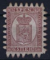 Finland 1866 Mi 5 C Z  Not Used (*) SG - Nuovi