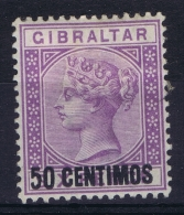 Gibraltar: SG Nr 20  MH/* Falz/ Charniere - Gibraltar