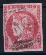 France: Yv Nr 49  Oblitéré / Cancelled - 1870 Emission De Bordeaux