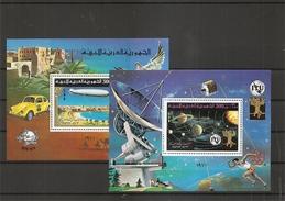 Libye - Zeppelins -Télécom( BF 22/23 XXX -MNH) - Libye