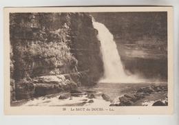 2 CPSM NATURE EAU CASCADE - Le Saut Du Doubs, NICE : Cascade Du Château - Cartes Postales