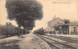 70 - HAUTE SAONE / Jussey - La Gare - Train - Beau Cliché - France