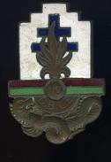 Ancien Insigne  émaillé -- DBLE 13 - Demi Brigade Légion étrangère -- Arthus Bertrand Paris  Ins1 - Marine