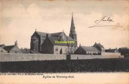 CPA WERVIK WERVICQ  SUD EGLISE - Wervik