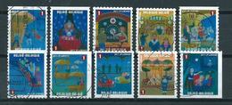 2011 Belgium Complete Set Festival Booklet Stamps Used/gebruikt/oblitere - België