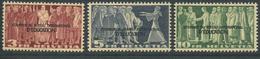 1600 - 3, 5 + 10 Fr. BIÉ Postfrisch Ohne Falz