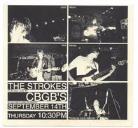 USA NYC CBGB Club The STROKES Band Memorabilia From 2000 - Plakate & Poster