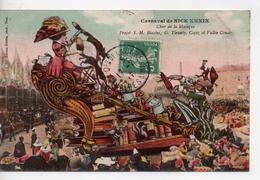 CPA.06.Nice.1911.Carnaval De Nice XXXIX.Char De La Musique.Projet Biasini. - Carnaval