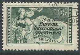 1603 - 10 Fr. BIT Mit Sauberem Eckstempel - Dienstpost