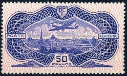 # FRANCE : Mi #321 Yv PA #15 Poste Aérienne / AirMail / Aircraft / Avion (1936) MLH * Neuf Avec Trace CV 800.00 EUR - Aéreo