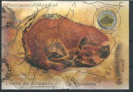ESPAGNE SPANIEN SPAGNA SPAIN ESPAÑA  2015 HUMAN HERITAGE MS CAVERNS CUEVA DE ALTAMIRA ED HB4965   MI B265-4974 - 1931-Hoy: 2ª República - ... Juan Carlos I