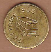 AC -  GETTONE BUS AUTELINEE DI PTARO CAP TOKEN JETON - Monetary/Of Necessity
