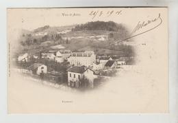 CPA PIONNIERE LE VAL D'AJOL (Vosges) - FAYMONT : Vue Générale - Francia