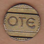 AC -  GREECE GREEK TELEPHONE OTE KEPMA 1963 TOKEN JETON - Monetary /of Necessity