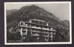 CPSM SUISSE - CHÂTEAU-d'OEX - Château D'Oex - Hôtel ROSAT - TB PLAN Façade Etablissement - VD Vaud