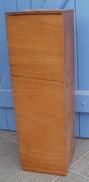 HUCHE à PAIN En Bois, Vintage H 72 Cm Intérieur Tissu - Mobili