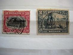 NRS OC 49 -52 GESTEMPELD - Weltkrieg 1914-18